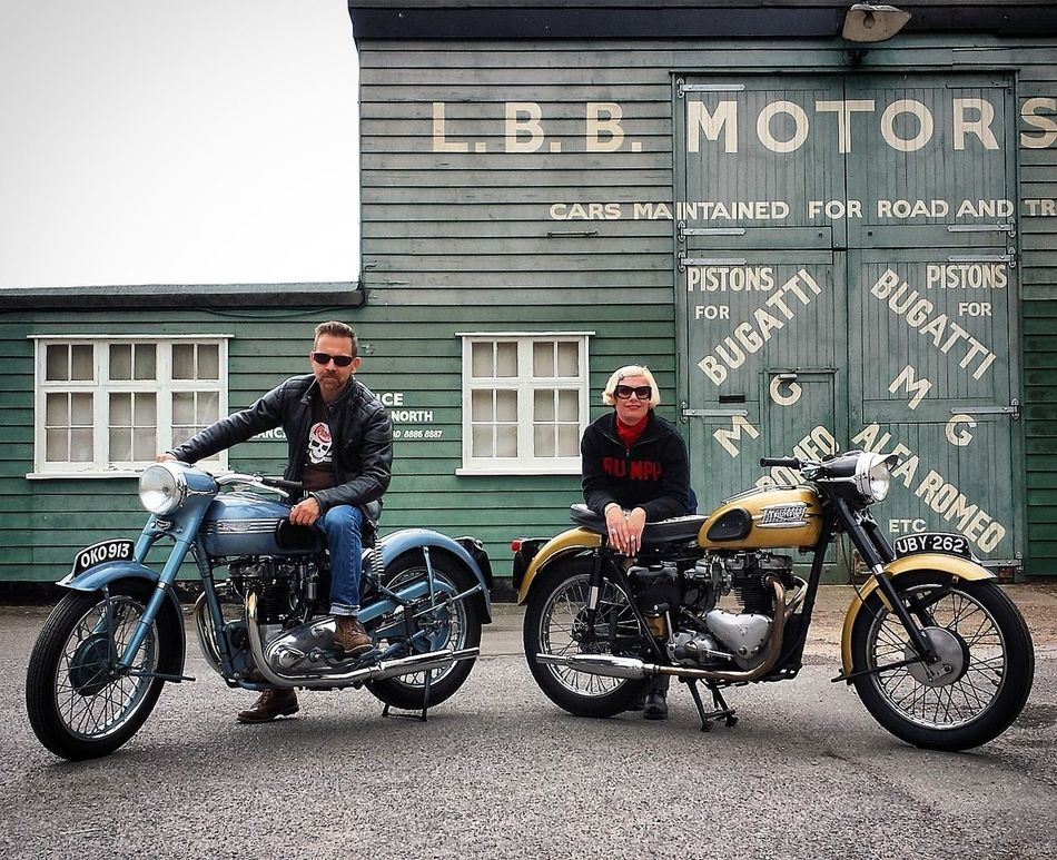 1950's 1950's Motorcycles 1950's Style 1950s Brooklands Brooklandsmuseum Classic Motorcycles Cool Motorcycle Rock'n'Roll Style Thunderbird Triumph Triumph Motorcycles Triumph Thunderbird Triumphmotorcycles