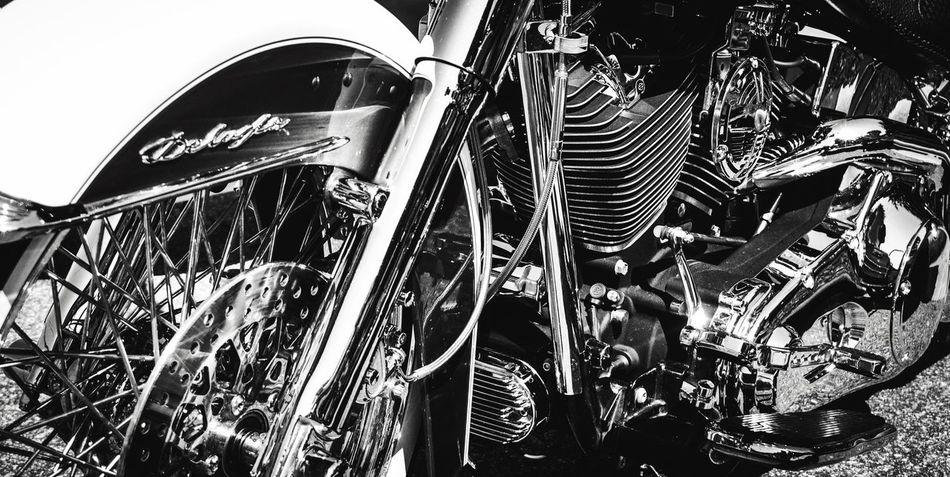 Chrome Harley Davidson Harleydavidson V-twin Motorcycle Motorcycles Motorcycle Photography Black And White Photography