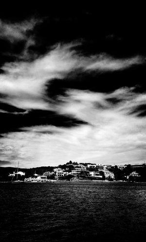 Taking Photos Blackandwhite Menorca Mediterranean  Monochrome Landscape