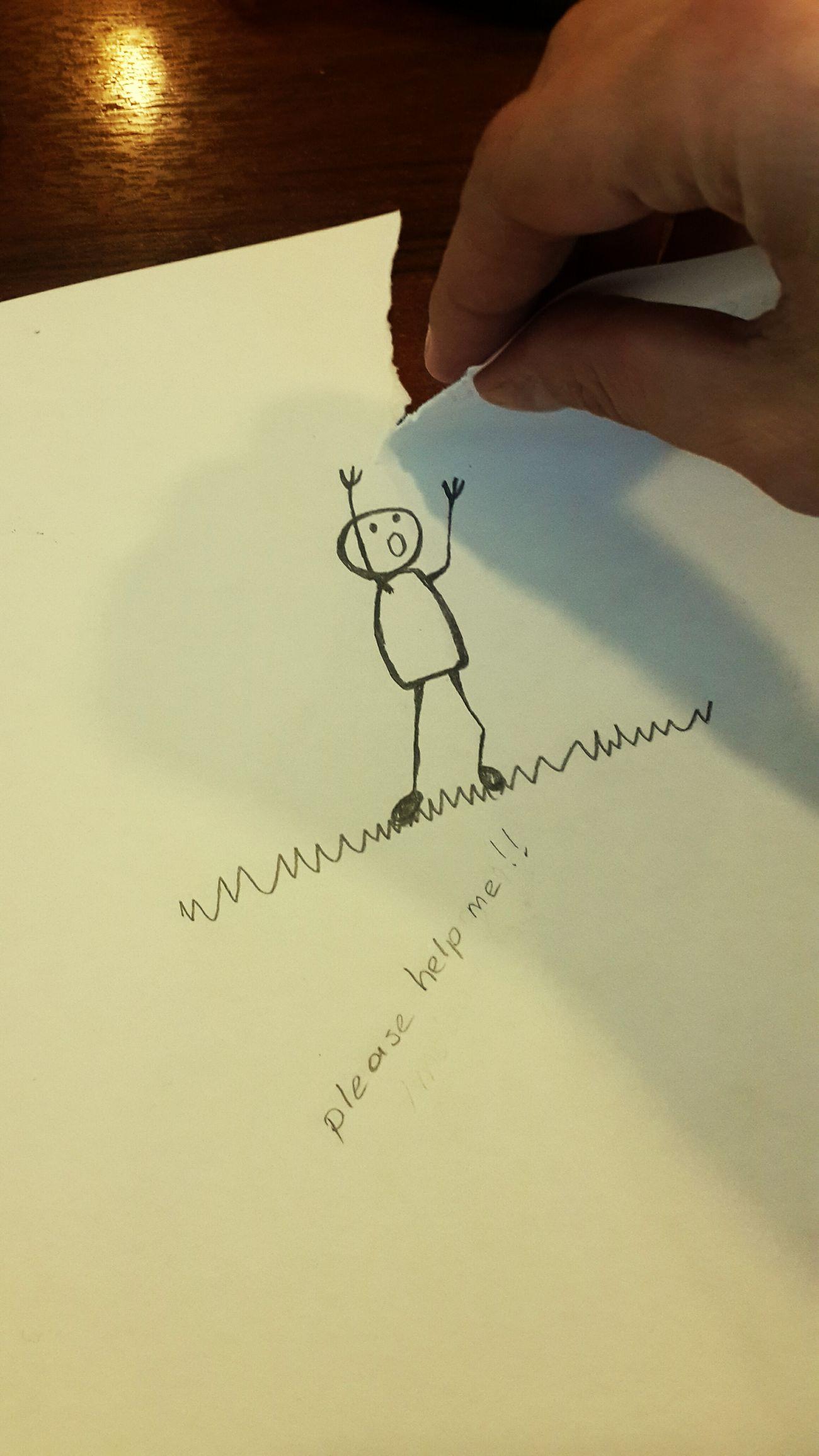 Caricature Cartoon Draw Karikateist Karikatürize Karikatürsokakta Stickman Fear