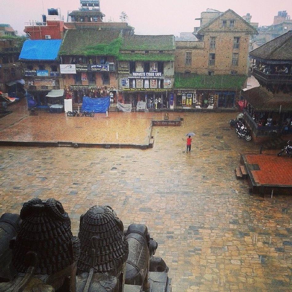 Rain Bhaktapur Durbar