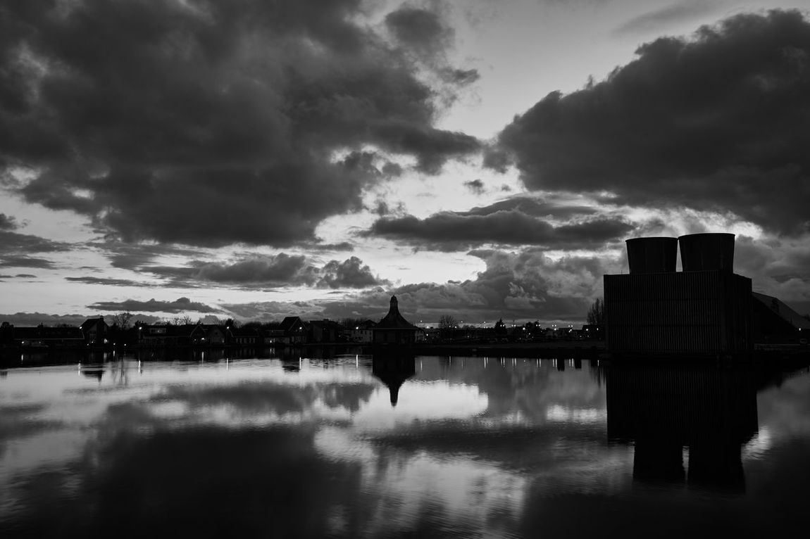 The Memory Remains Atmosphere Atmospheric Mood B&w Blackandwhite Cloudy Dusk Dutch Europe Halfweg Holland Landscape Landscape_photography Moody Sky Mystery Nederland Netherlands Outdoors Reflection Reflection_collection Silhouette Sky Sky And Clouds Water Water Reflections Weather