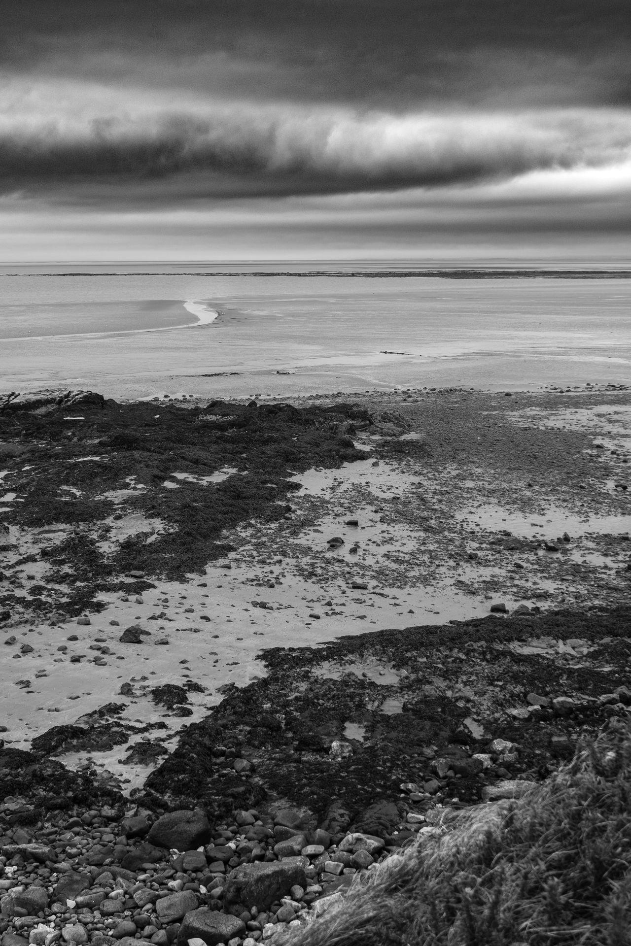 idmphotographer.com Beach Beauty In Nature Cloud - Sky Coastline Cumbria Day Dramatic Sky Heysham Coast High Angle View Horizon Over Water Horizontal Lines Medium Contrast Nature No People Outdoors Sand Scenics Sea Shore Tranquility Vertical Composition Vertical Lines Water Wide Angle