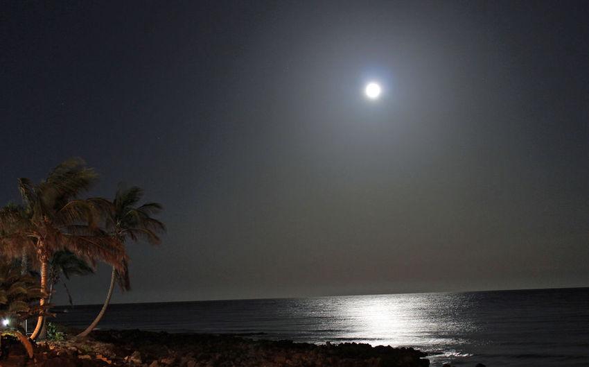 Moonlight in Lanzarote Supermoon 2014 Photography Lanzarote