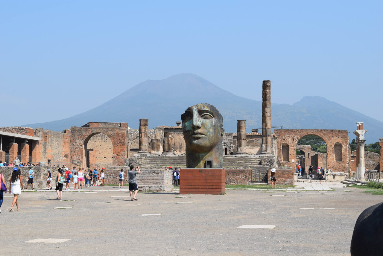 Beautiful stock photos of pompeji, human representation, statue, male likeness, travel destinations