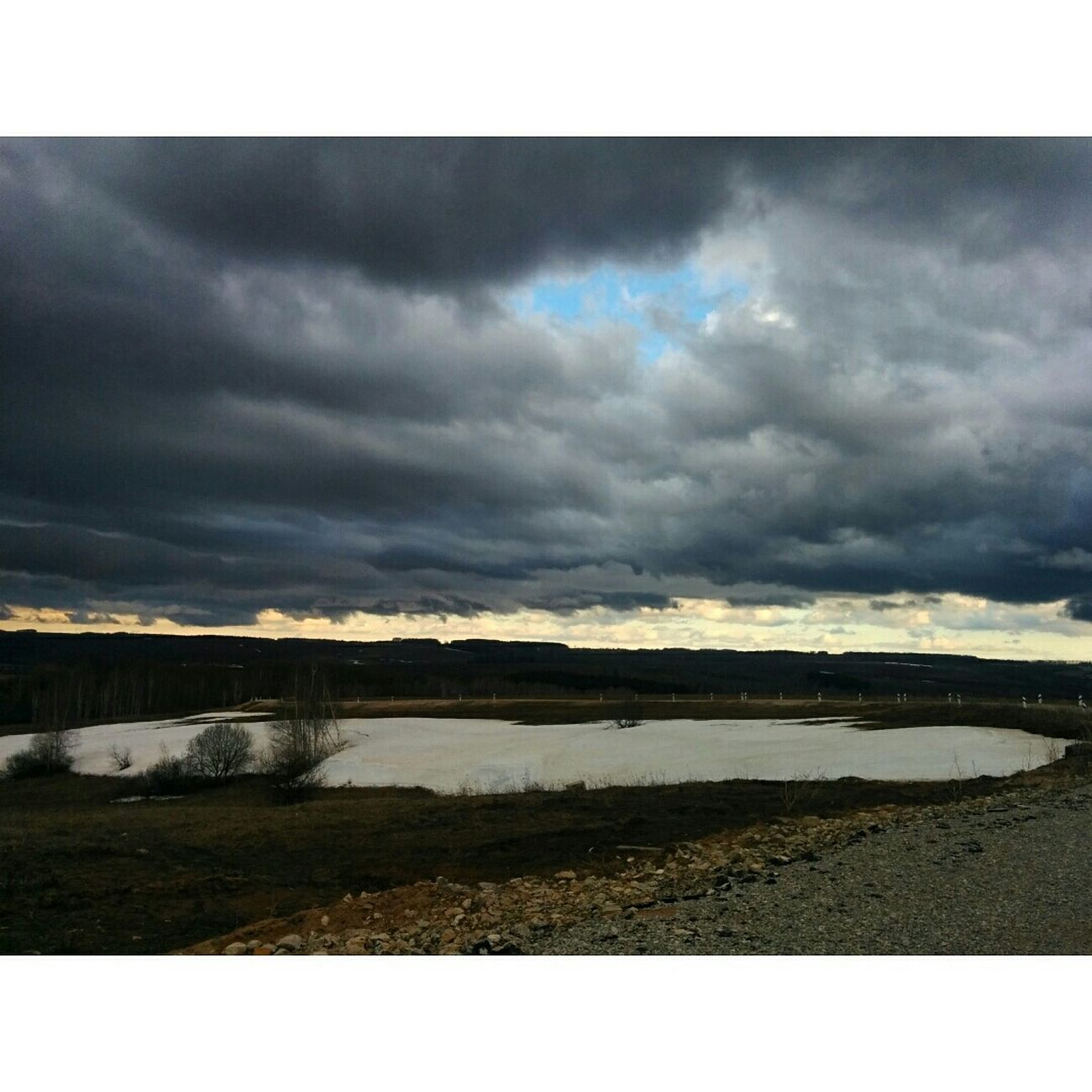 Heavy clouds. Nature Landscape Skyline Feel Russia Sky Clouds Beautiful Nasty Spring Kazan