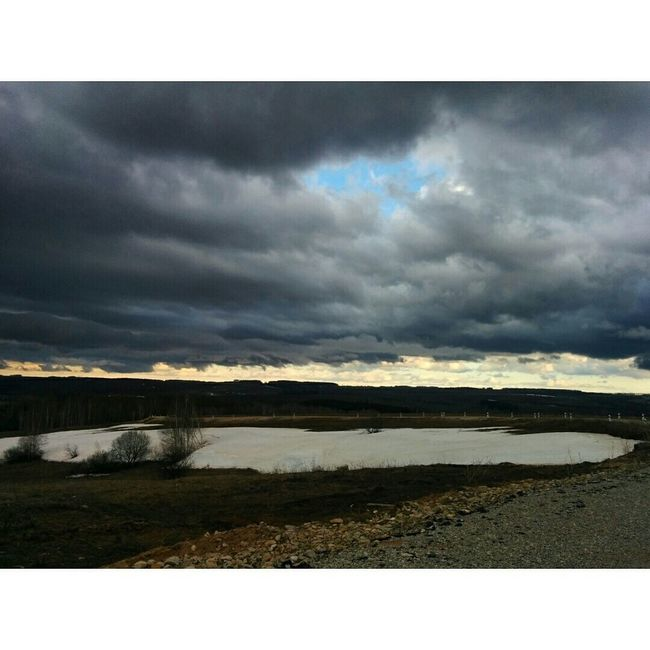 Heavy clouds. Nature Landscape Skyline Feel Russia Sky Clouds Beautiful Nasty Spring Kazan