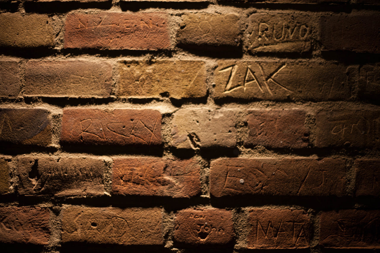Backgrounds Brick Wall Bricks Day Full Frame No People Outdoors Tags