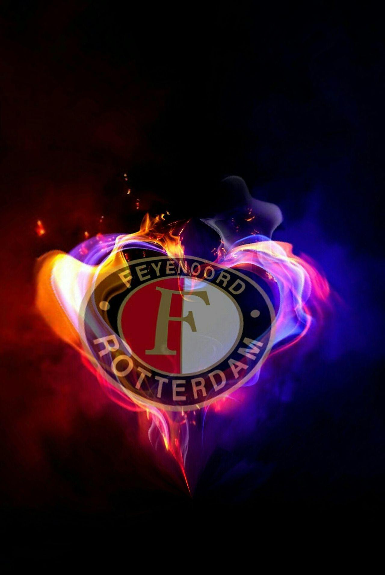 Feyenoord Football Club Feyenoord Rotterdam Football Fan Most Loyal Fans Feyenoord Legion! The Legion The Purist Loyalty Feyenoord Heart