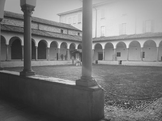 Hanging out at Abbazia di Morimondo by Luca