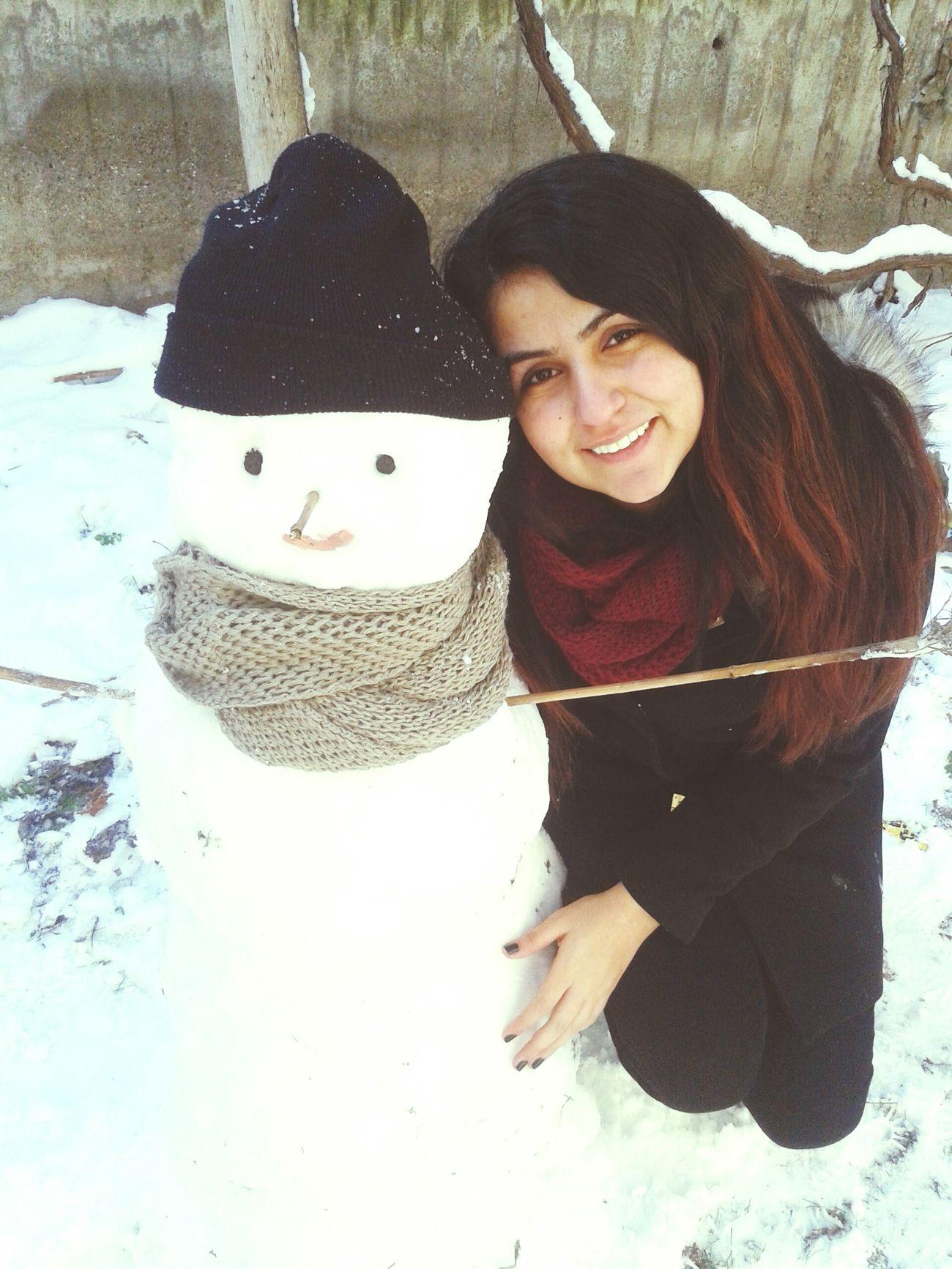 Snowman First Eyeem Photo