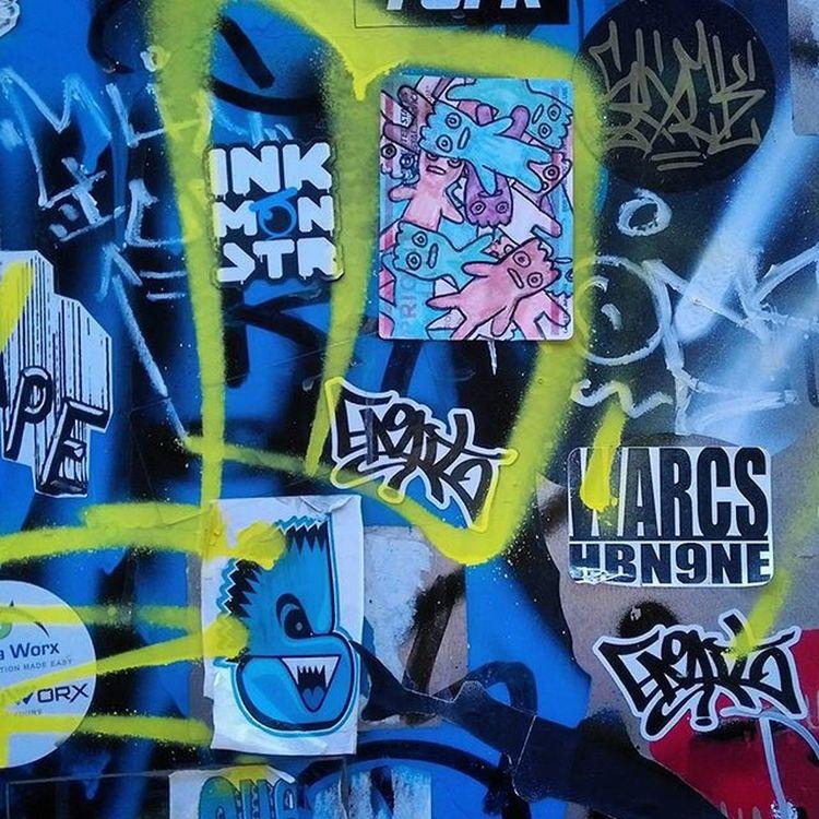 Slaps  Graffhunter Graffitiporn Stickers Stickershit Stickerporn Denvergraffslaps Denvergraffiti Graffslaps Emit Warcs Inkmonstr