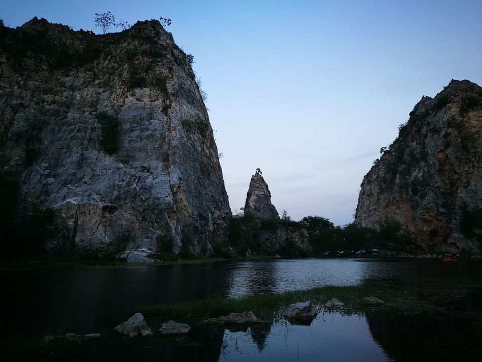 Reflection Nature Rockmountain