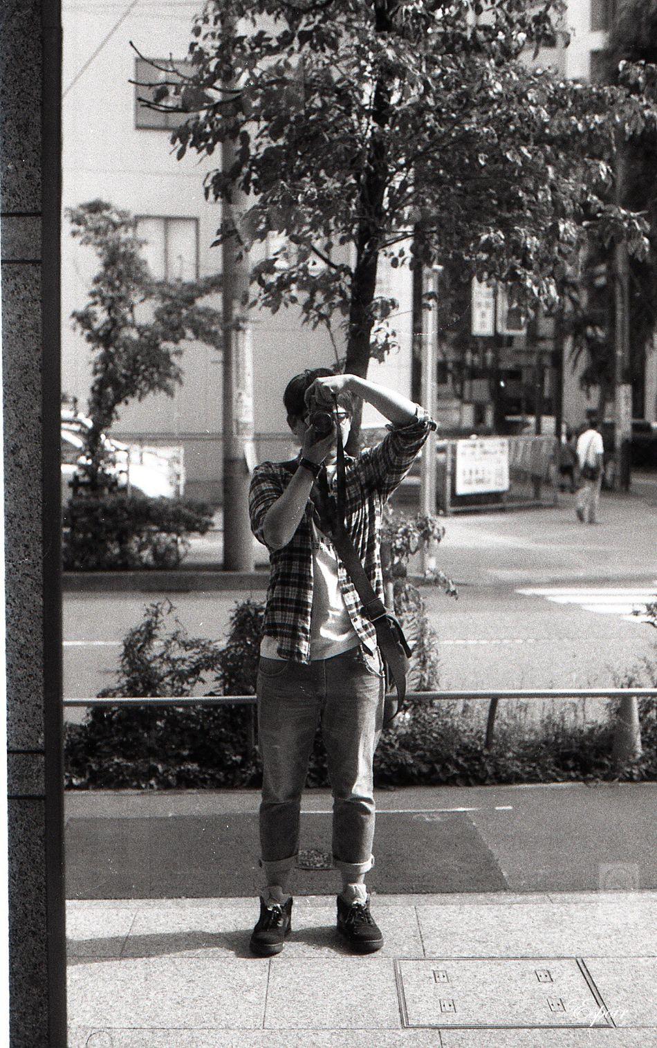 Myself Olympus OM-1 B&WPhoto