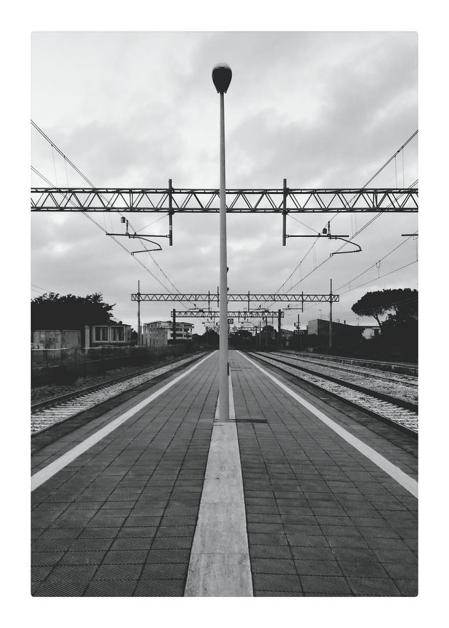Rail Railway Railroad Track Train Station Cityscape Dramatic Light Urban Landscape Urban Geometry Urban Solitude Solitude Melancholic Landscapes Melancolia Pivotal Ideas Geometric Shapes PolaroidEyeEm Best Shots Eye4photography