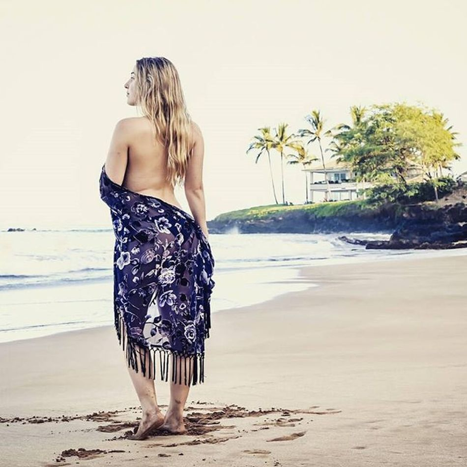 Maui beach babe Beautiful Beach Goddess Paradise Hawaii Maui Goddesses Befree Mauiphotography Mauinokaoi Mauiportraits @kirschaababyy