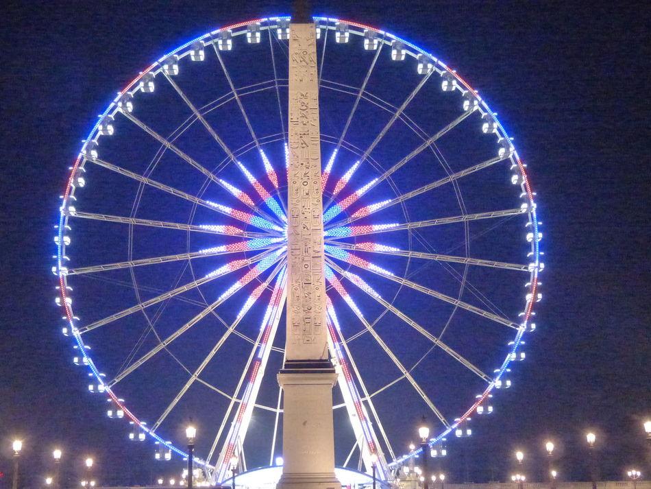 France🇫🇷 ParisByNight Paris Is For Lovers Big Wheel Evening Light Visitparis Paris Je T Aime