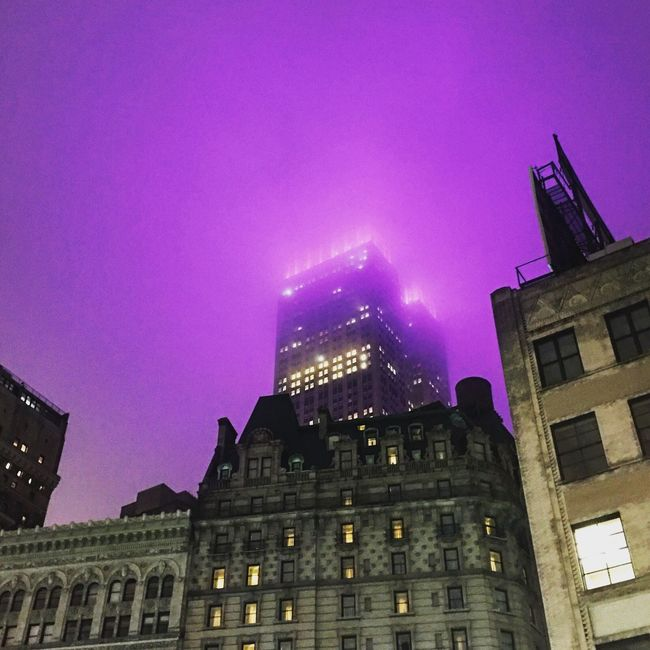 NYC Photography Urban Prince  Empire State Building AlzheimersAwareness