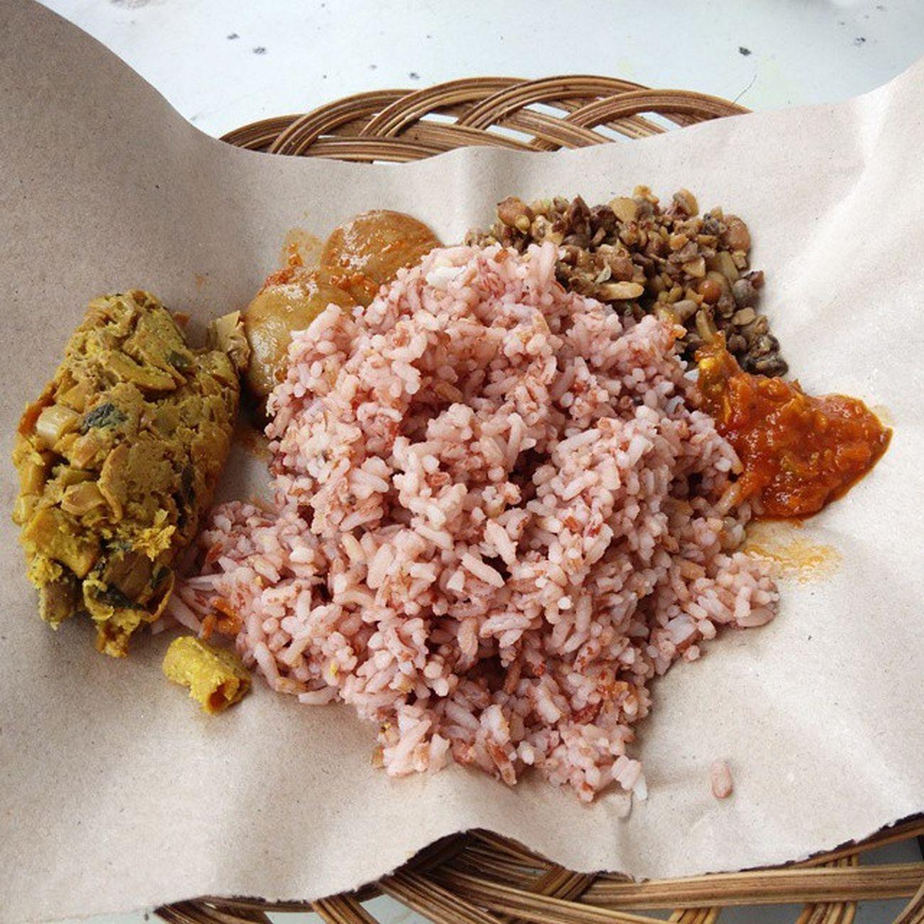 Sarapan nasi merah dulu WilujengEnjing Kuningan Jawabarat Gadgetlicious