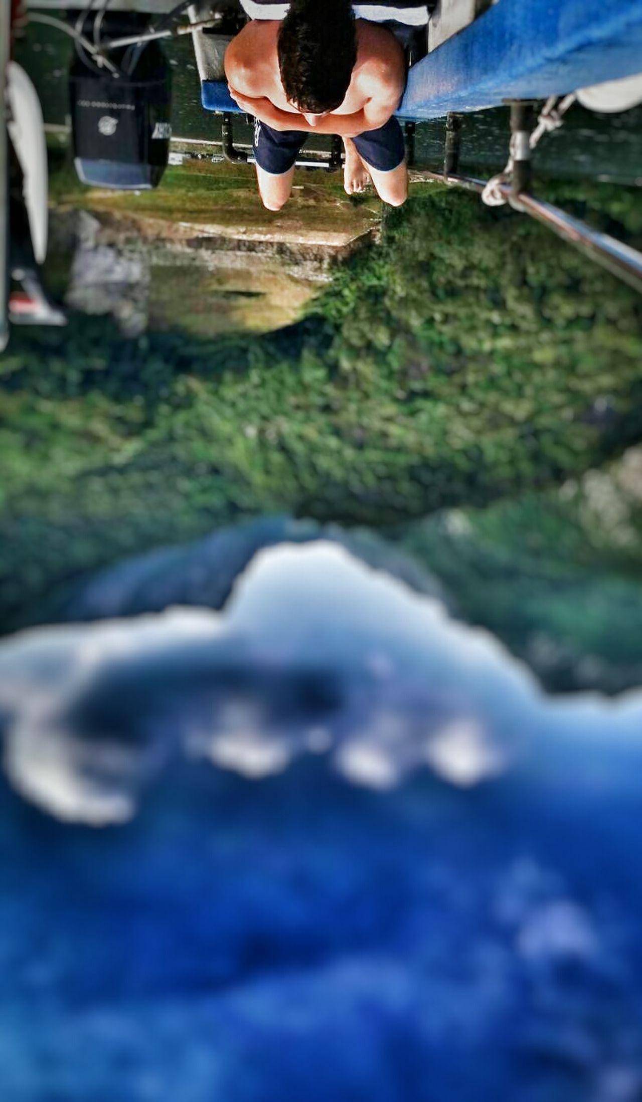 The OO Mission Jollo Lago Di Como Lake Lago Luca Riva Lucariva Samung Galaxy S6 Barça Boat Upside Down Upsidedown