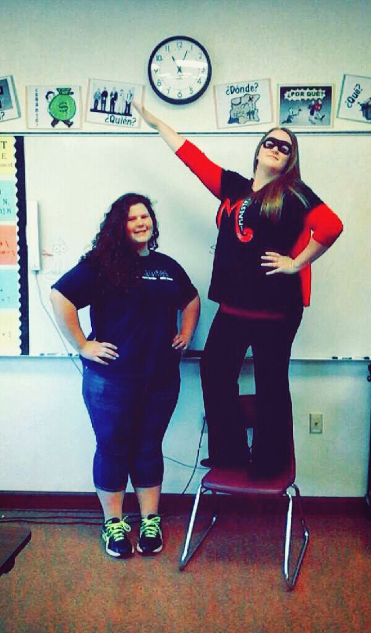 I basically have the cutest Spanish teacher ever! :) Homecoming Hello World Shes Cute  Dress Up