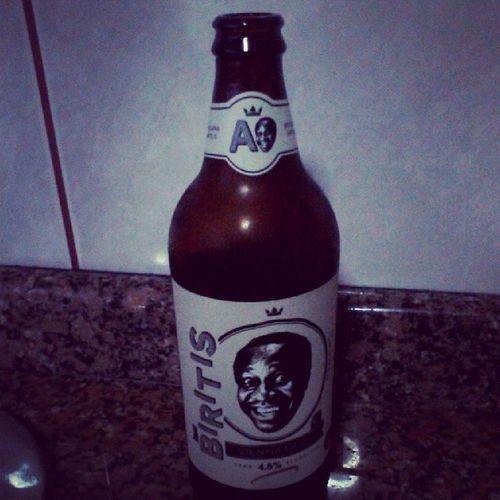 """E a de hoje foi a """"Biritis"""". Uma Vienna Lager em homenagem ao lindis do Mussum. Beer Biritis MrBeer"""