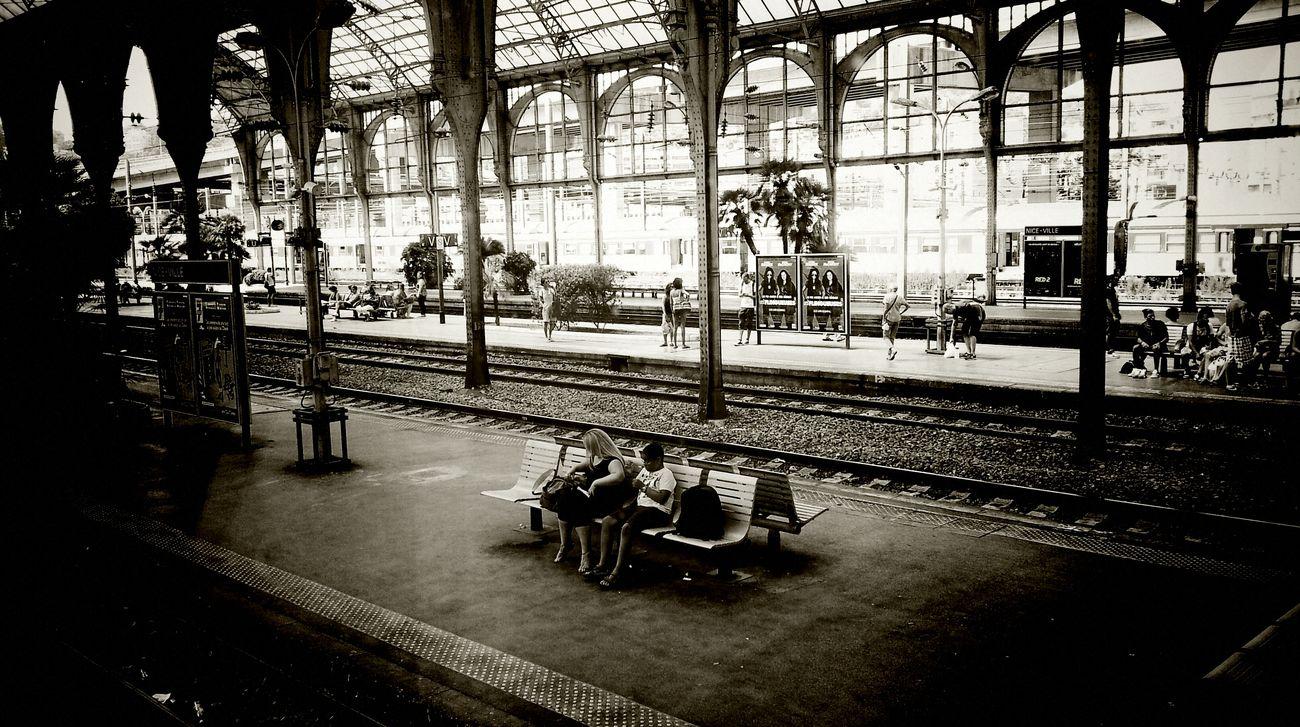 Architecture Day Railroad Track