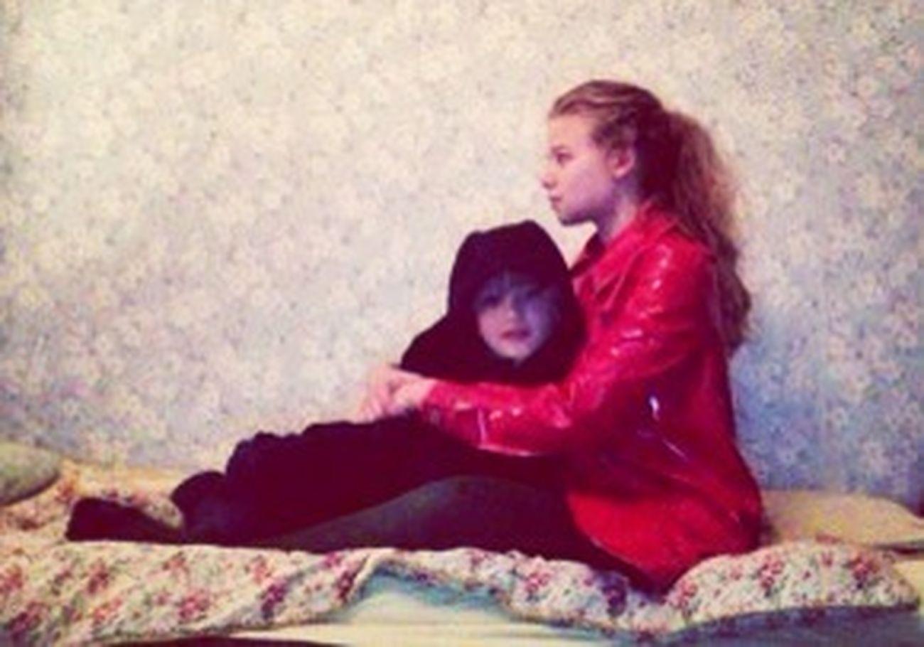 chaperon rouge & veste de cuir