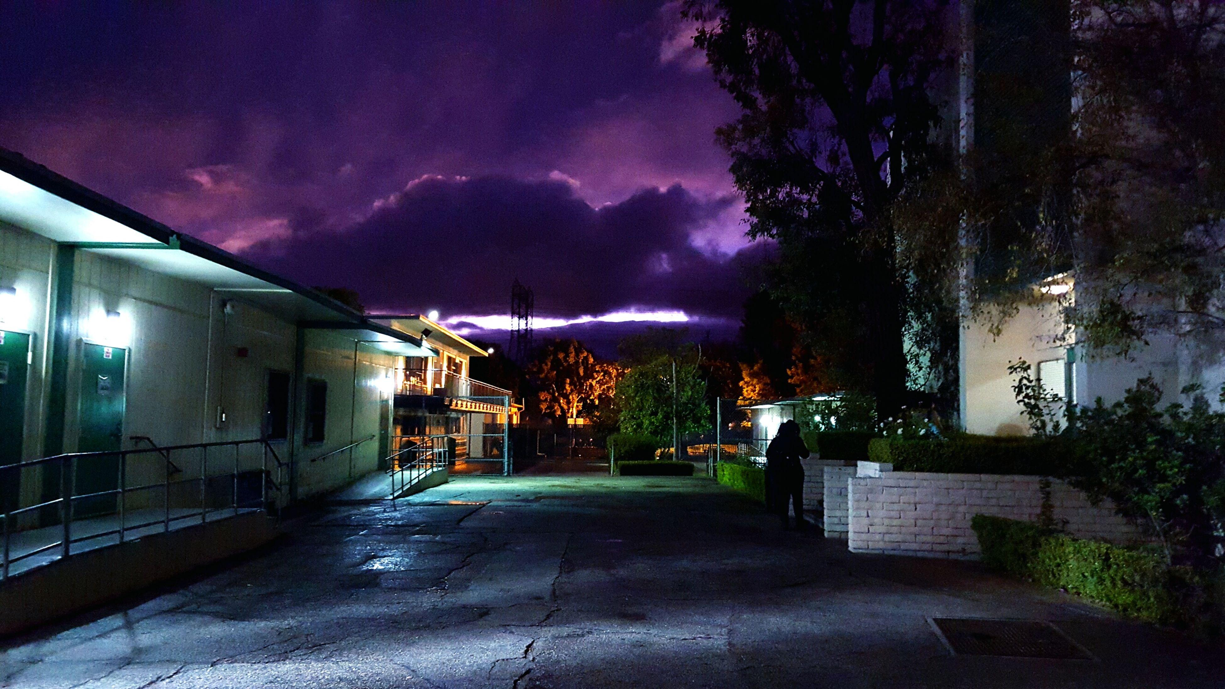 Highschool Life Part 2 In Granada Hills School Life  Nighttime Lights Showcase: November
