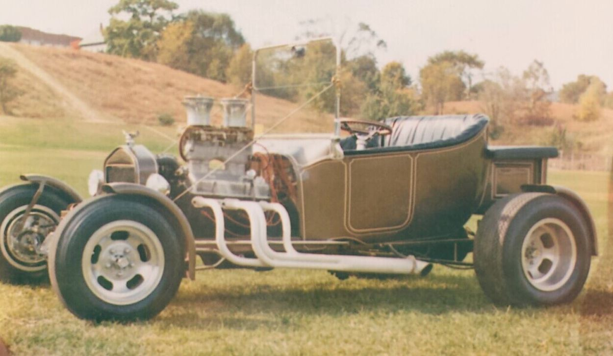 My T Bucket in 1969 Vintage Photo Car Photography