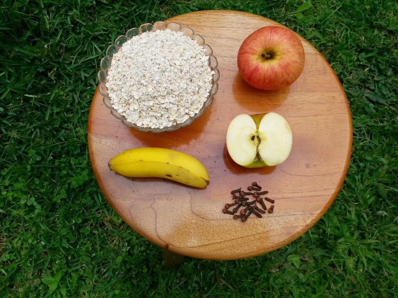 EyeEm Selects Fruits Apple Banana Oats Cloves Healthy Food Avoine