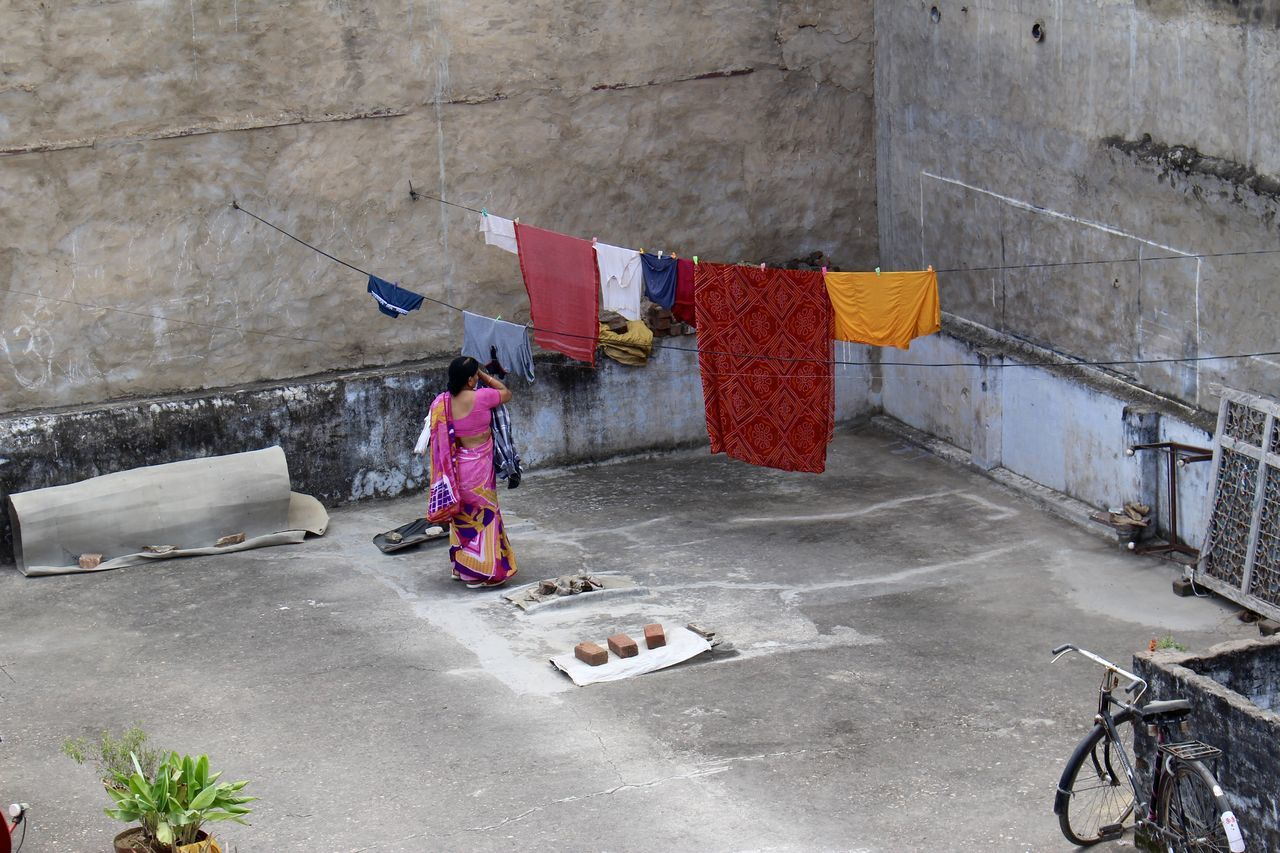 A Colours India Laundry Pushkar Traveling Wanderlust Wanderlust Wednesday Woman First Eyeem Photo