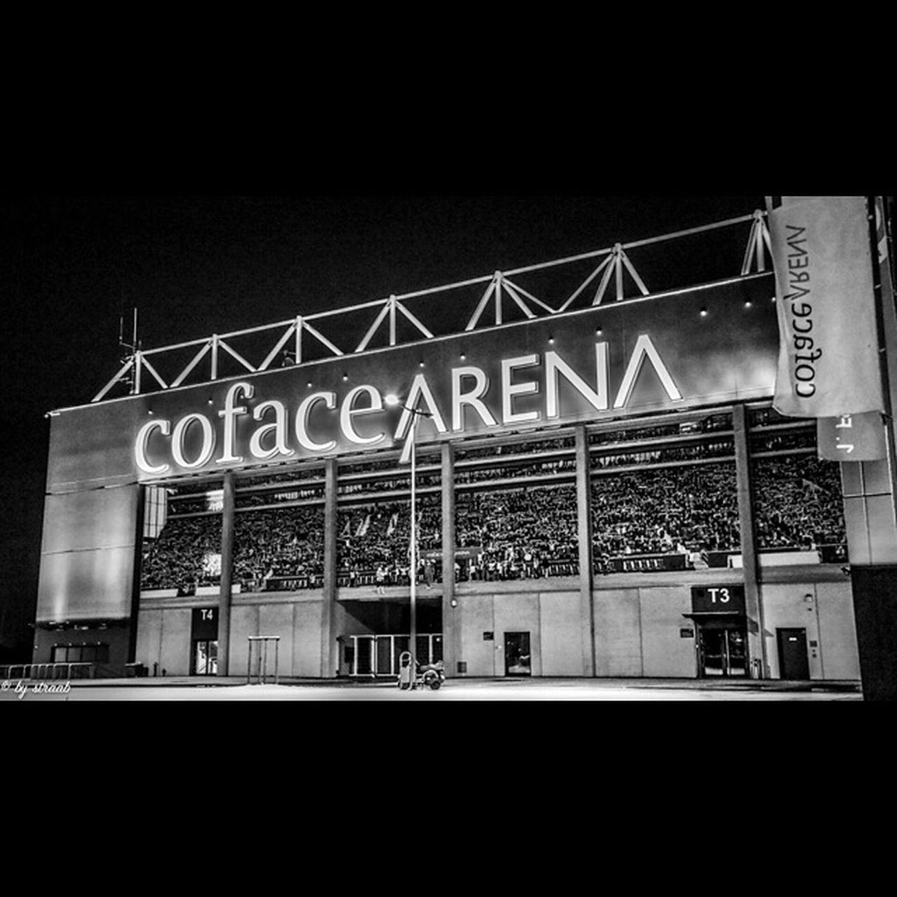 Nightshooting Coface Arena  Mainz Rlp Bnw Schwarzweiß