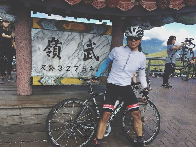 #morning #fuji #bike #目標#公路天堂#武嶺#relaxing #do#it#life#day#秋分 Bicycle We Bikes Road Walking Around Have Fun Bike Check This Out Life Relaxing