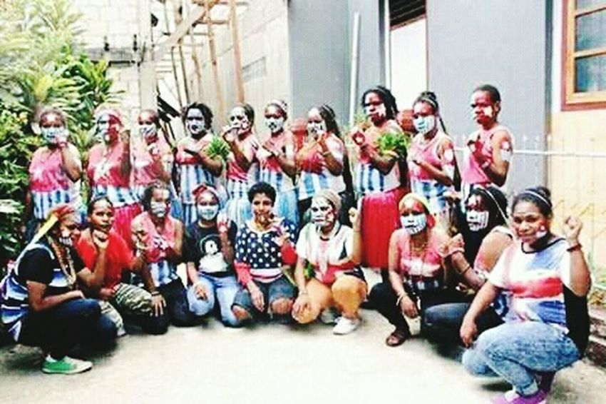 Large Group Of People Women Young Women Friendship Social Issues Countrylife West Papua People West Papua Politic Of Freedom West Papua Flag Patriotism Papua Free Of Indonesia Colonial West Papua Want To Free Of Indonesia Colonial. West Papua Women