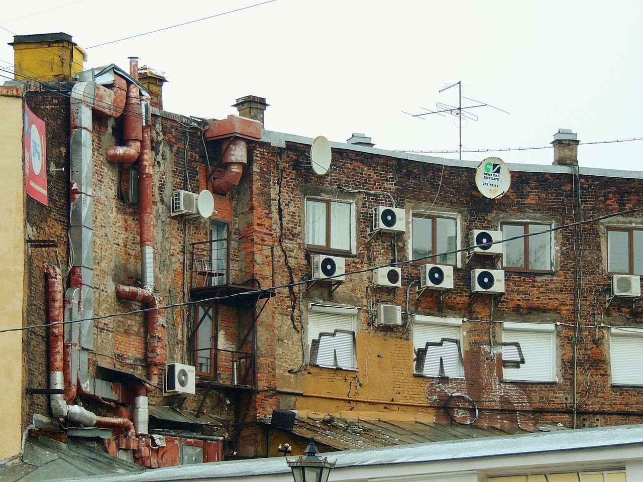 Urban Landscape Artnature City Street Peterburg