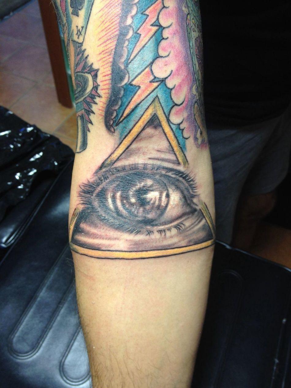 Eye realistic Getting Inked Tattoo Inked No Pain, No Gain