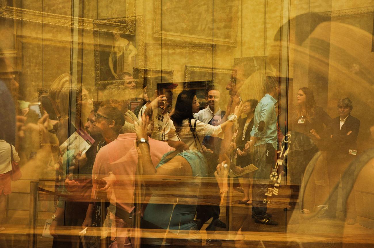 43 Golden Moments Eye4photography  First Eyeem Photo Paris, France  Lourve LourveMuseum Art Double Exposure