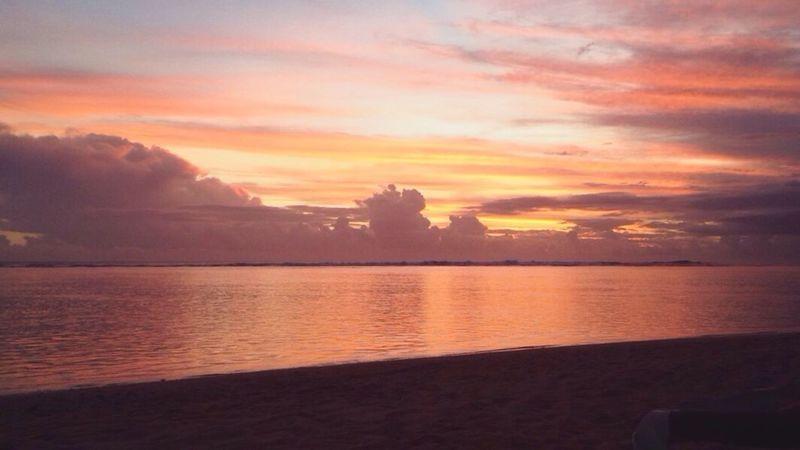 Sunset Holidays Landscape Chilling