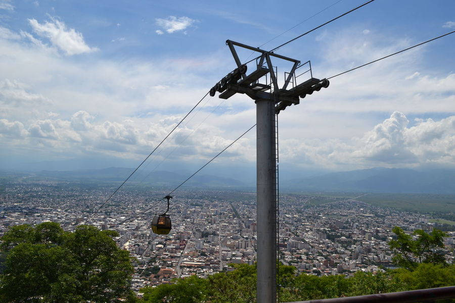 Architecture Beauty In Nature Building Exterior Built Structure Cable Cablecar Cablecar Ride Cablecarline Cablecars Cablecarview City Cityscape Cloud - Sky Day Landscape Mountain Nature No People Outdoors Scenics Sky Technology Tree