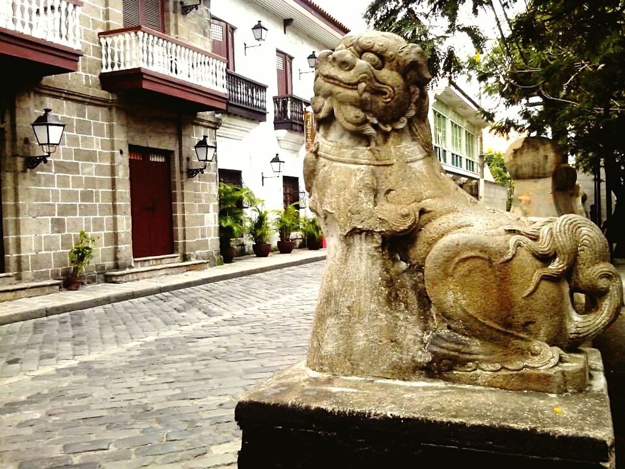 5MP Alcatel One Touch 5021E Intramuros Random_Pics Mobile Photography Biking By… Statues