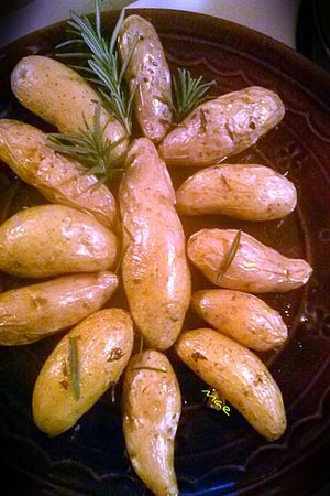 I've been trying out my induction cooker. These fingerling potatoes only took 20 minutes. Foodpics Food Out Of My Cauldron SZeaglesoul Joy Of Cooking Streamzoofamily