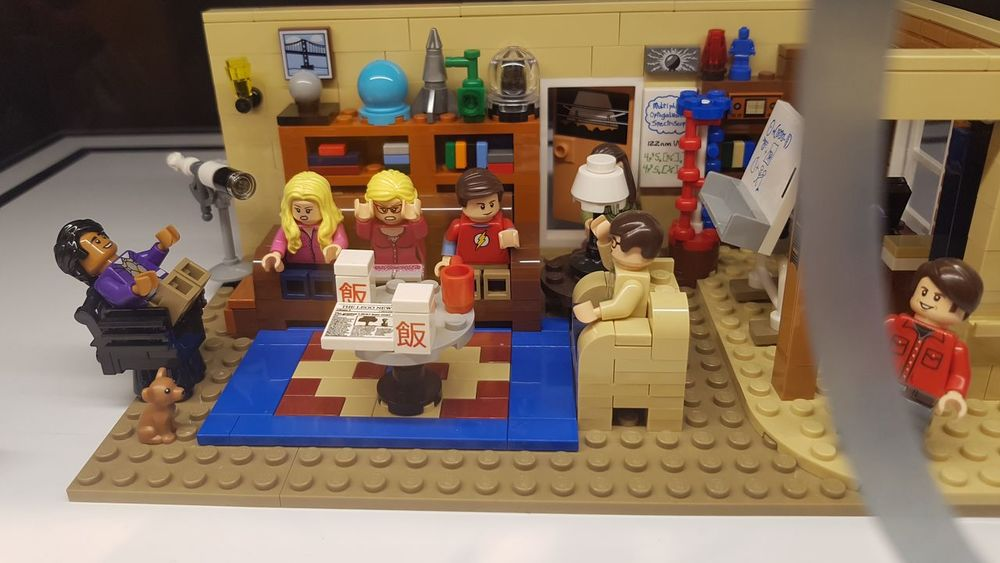Archival Day Home Interior Indoors  LEGO Lego Minifigures Legophotography No People Tbbt The Big Bang Theory