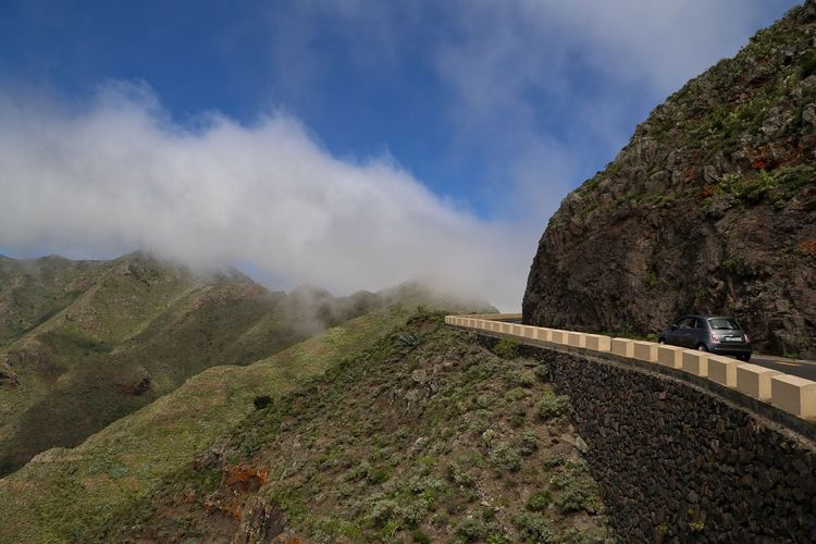 Дорога в облаках Tenerife Cloud - Sky Clouds And Sky Road Car Nature Landscape The Great Outdoors - 2017 EyeEm Awards Live For The Story