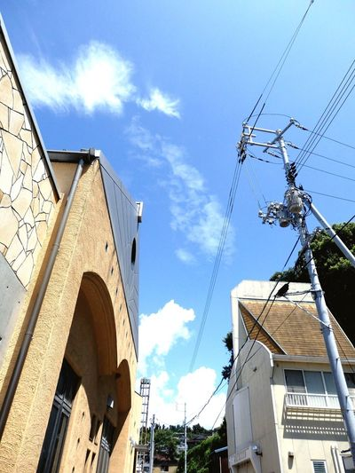 Japan Kashirajima 頭島 Sky Sky And Clouds Summer Summerdays  Sunnyday☀️