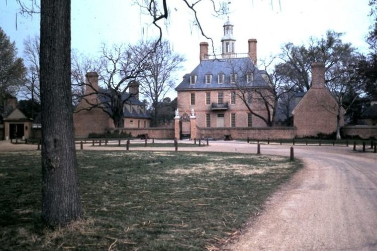 American History Architecture Building Exterior Built Structure Governor's House Outdoors Tourist Destination Williamsburg, Virginia