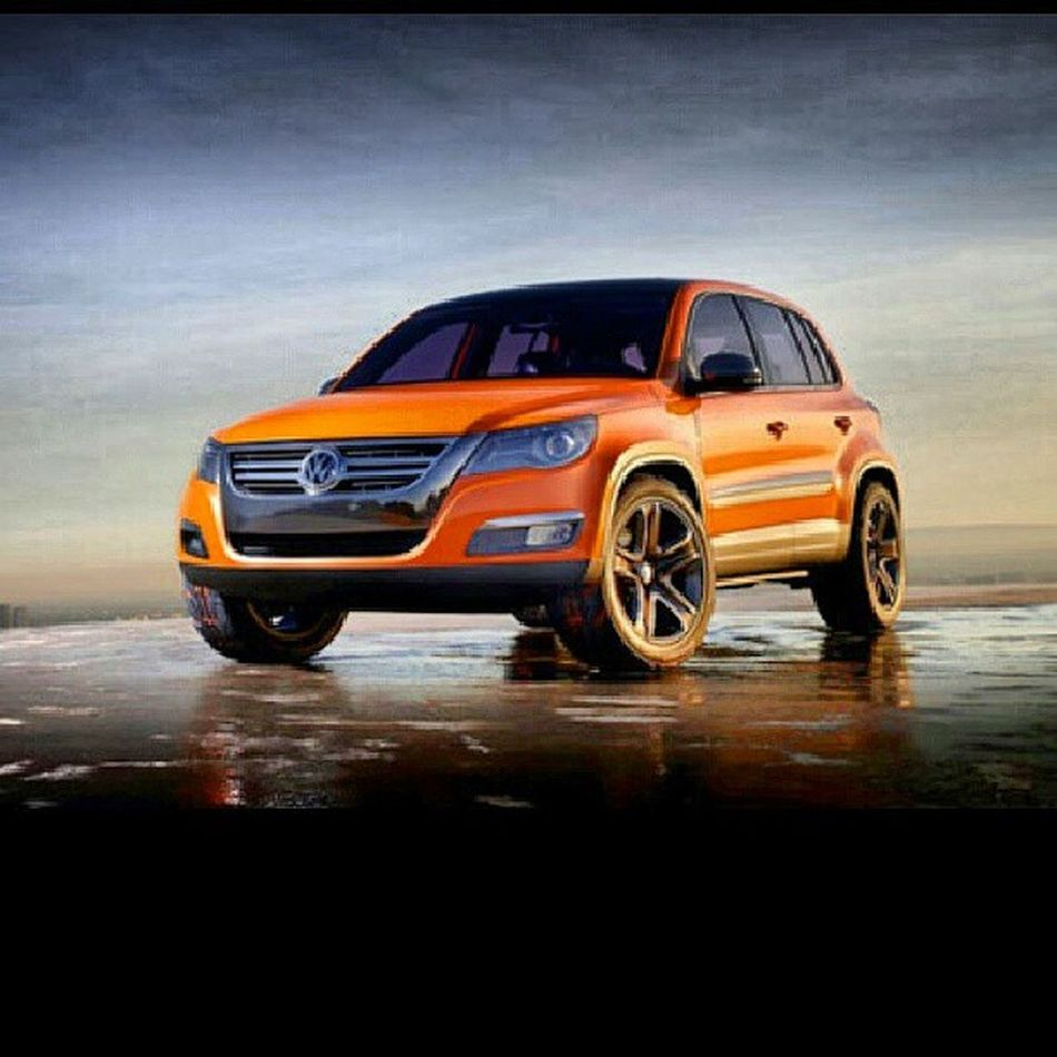 wouldn't be mad at all if I had one of these! Volkswagen Tiguan Haayy