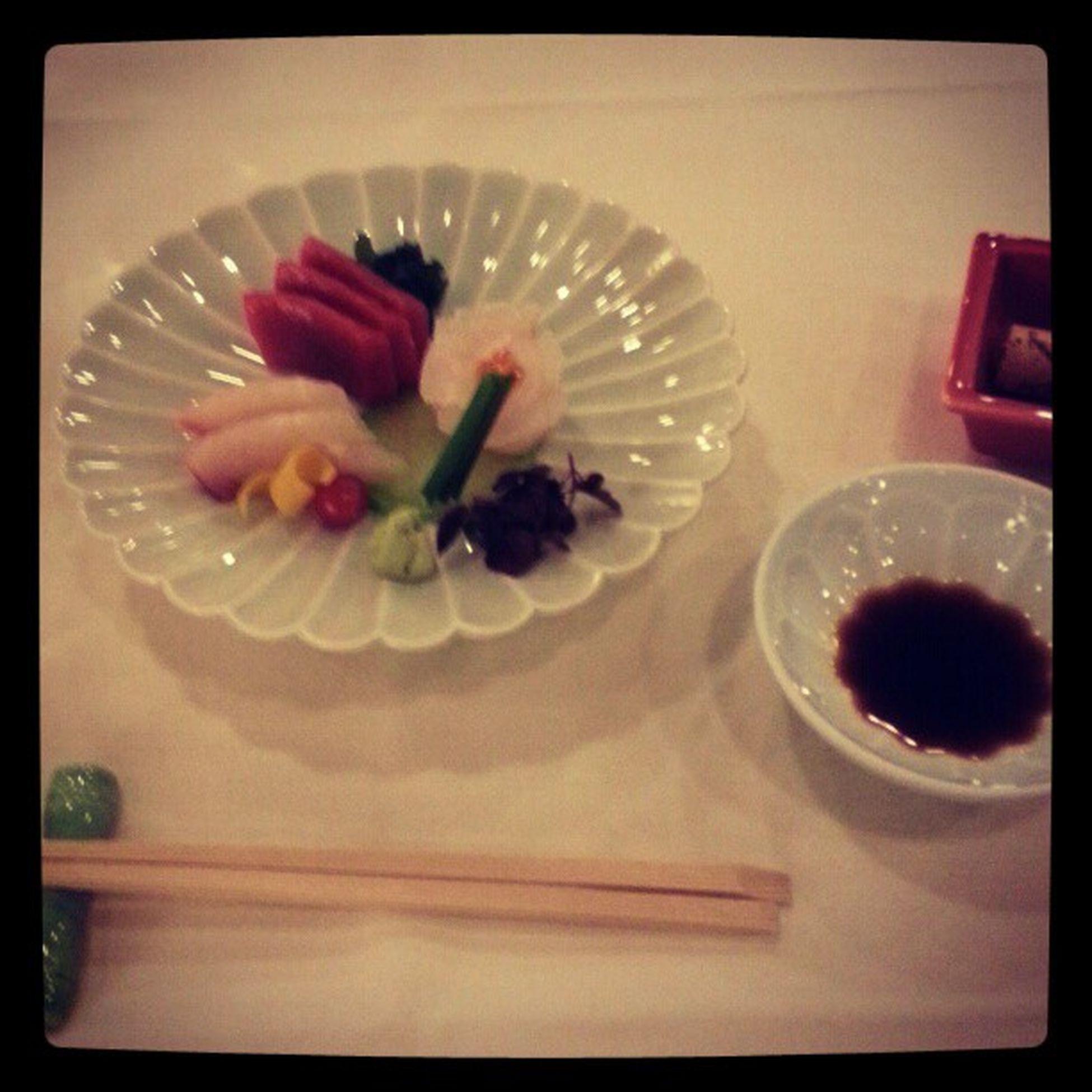 Sashimi at Yamazato