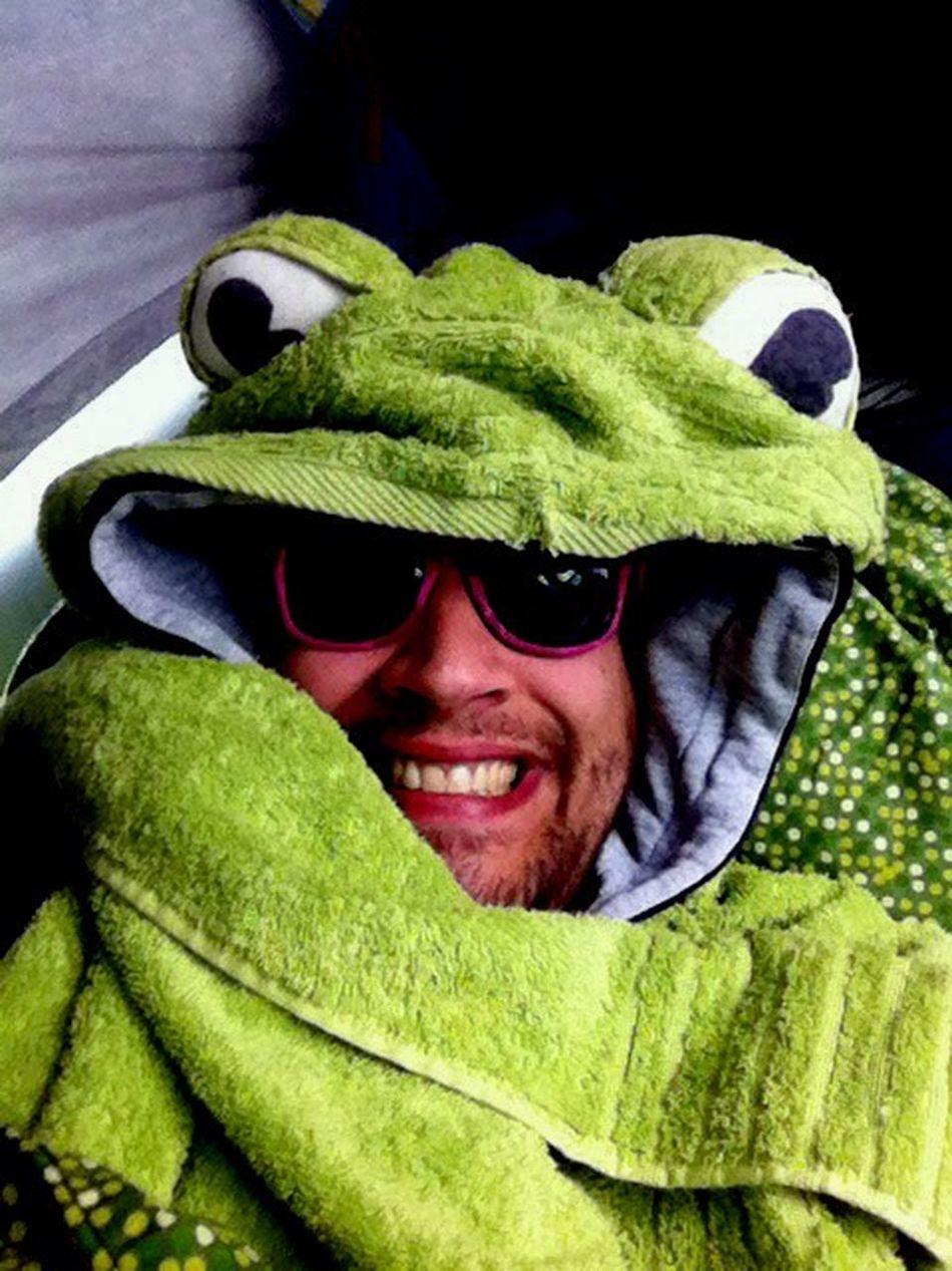 Frogtowel Towelday Frog