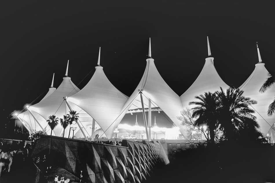 King Fahad International Stadium at night -2- Nfc Stadium Nassr Night